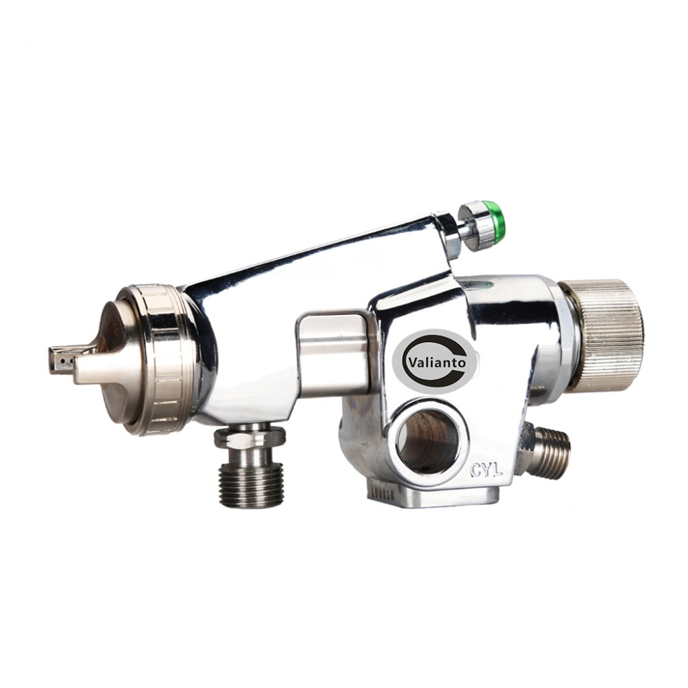 Free Shipping WA200 Silver Pressure Feed Pneumatic Automatic Spray Gun Painting Tools Use for Car /Sprayer Gun high quality anest iwata air cap r2 for spray gun w 200and spray gun wa 200 pneumatic tools painting tools r2