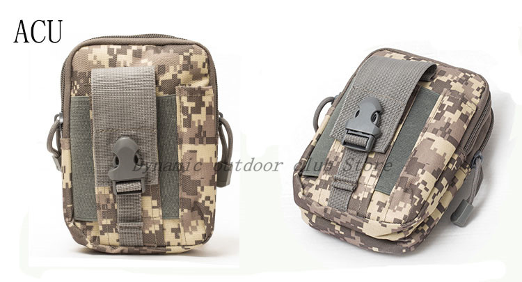 Image 5 - Men Tactical Molle Pouch Belt Waist Pack Bag Small Pocket Military Waist Pack Running Pouch Travel Camping Bags Soft back-in Hunting Gun Accessories from Sports & Entertainment