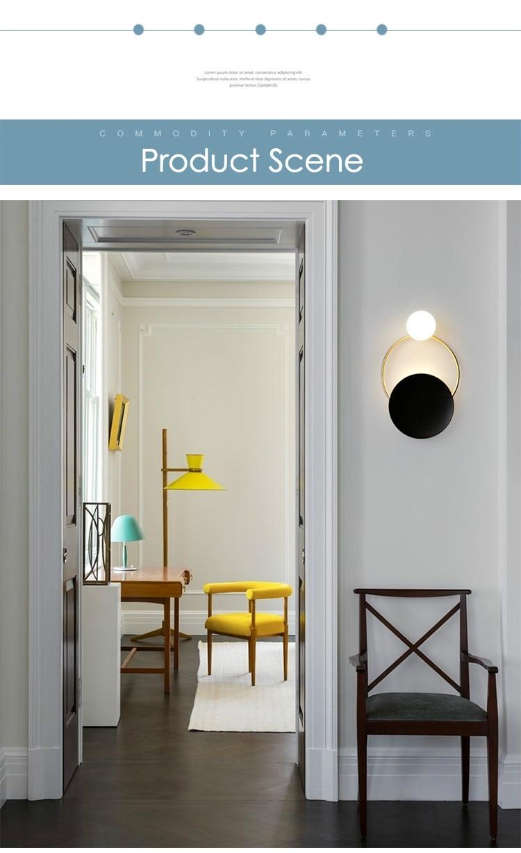 montagem na parede iluminação luminária decoração da sua casa
