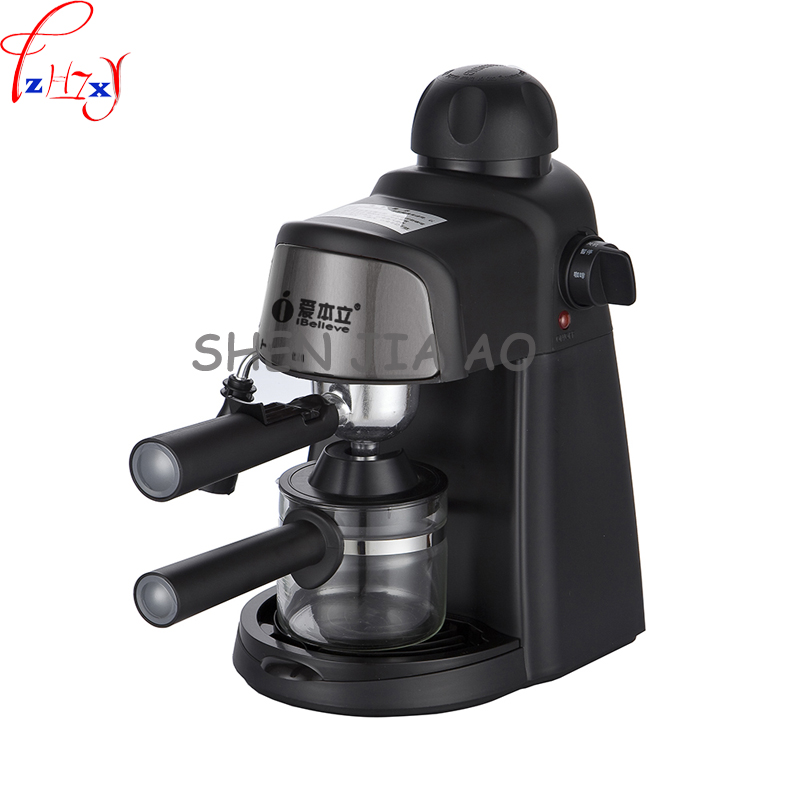 1pc 220V CM6810 semi-automatic Italian American coffee machine 5 Pa pump pressure home commercial steam beat milk bubble free shipping electronic high pressure steam foam for commercial household semi automatic coffee machine coffee machine