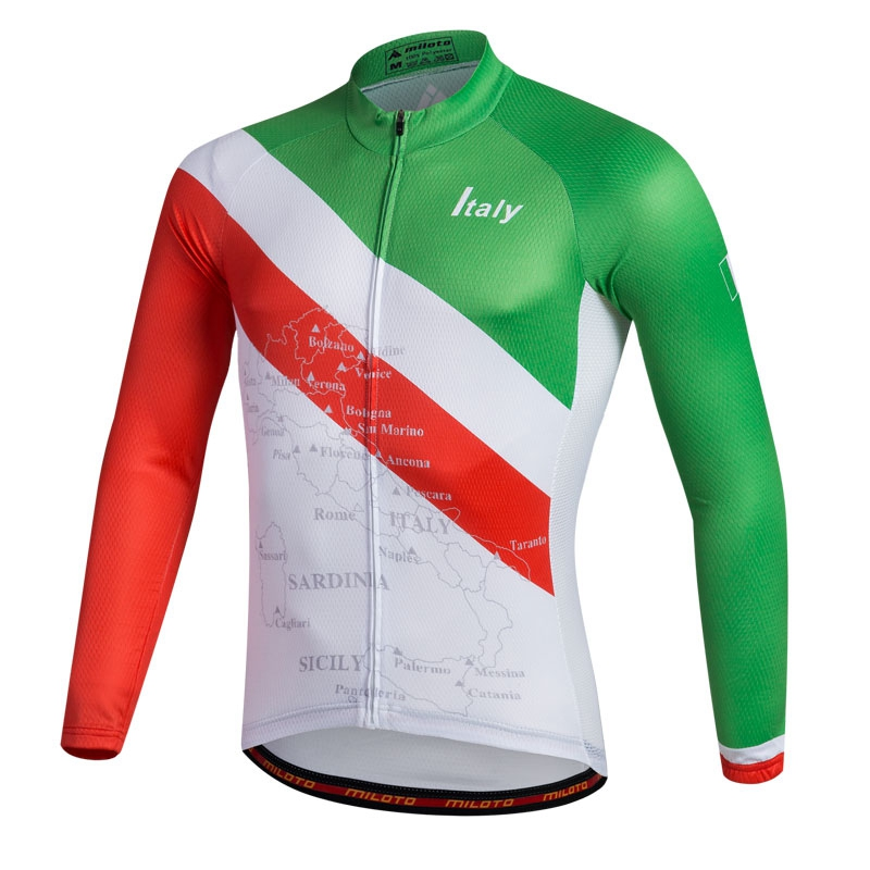 1f00c3ebb Maillot Mens Cycling Jerseys Long Sleeve Shirts Bike MTB Road Ropa Ciclismo  Cycling Clothing S 4XL-in Cycling Jerseys from Sports   Entertainment on ...