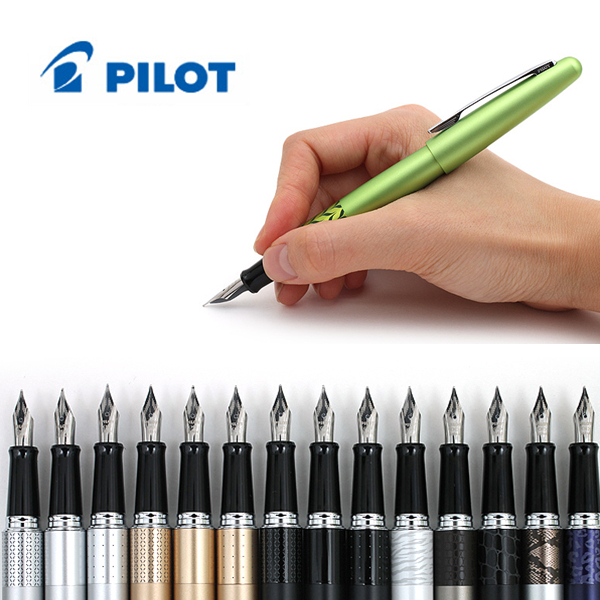 2016 New Fashion Pilot Metropolitan Fountain Pen - Medium Nib Animal Print/Color Body Writing supplies italic nib art fountain pen arabic calligraphy black pen line width 1 1mm to 3 0mm