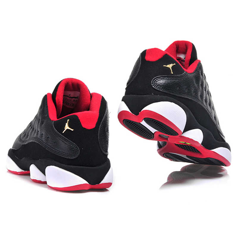 sports shoes cc1f5 f7bc9 ... Original Nike Air Jordan 13 Retro Low Bred Men Basketball  Shoes,Original Men Outdoor Sport ...