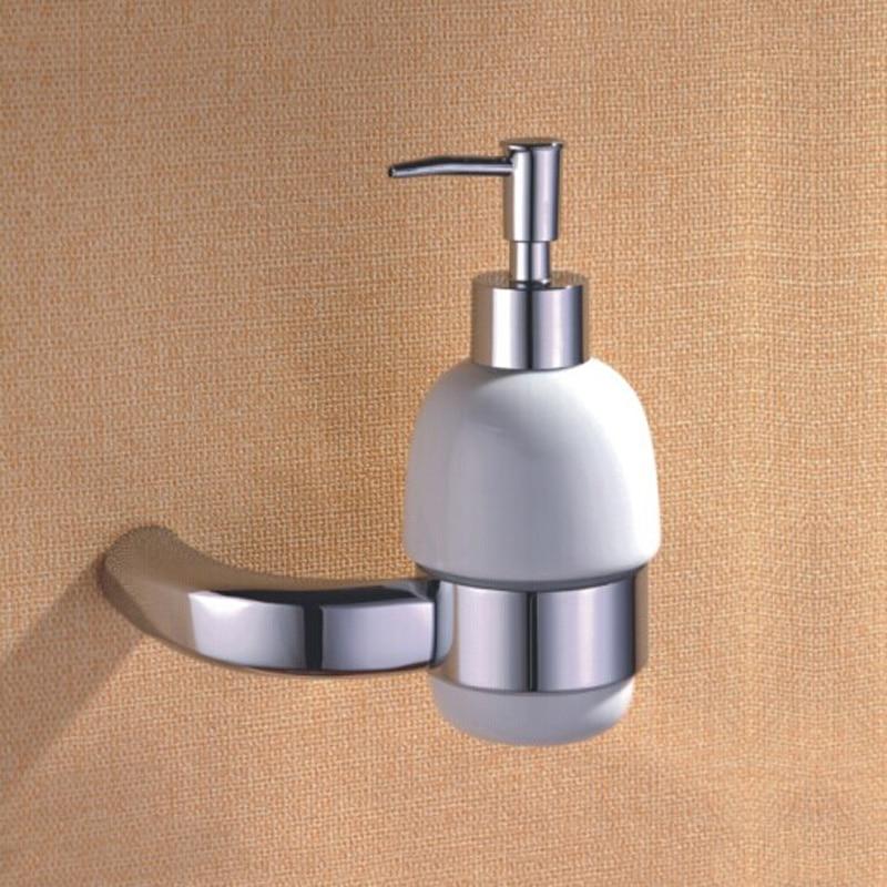 Br Bathroom Hardware Sets Ceramic Soap Pump Coat Hooks Toilet Paper Holder Towel Bar With Polished Chrome 5 Pcs Lot In Bath From Home