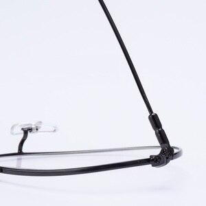 Image 4 - إطار نظارات طيران من Cubojue للرجال والنساء نظارات من التيتانيوم للرجال نظارات فائقة الخفة على الموضة أو وصفة طبية نظارات كلاسيكية