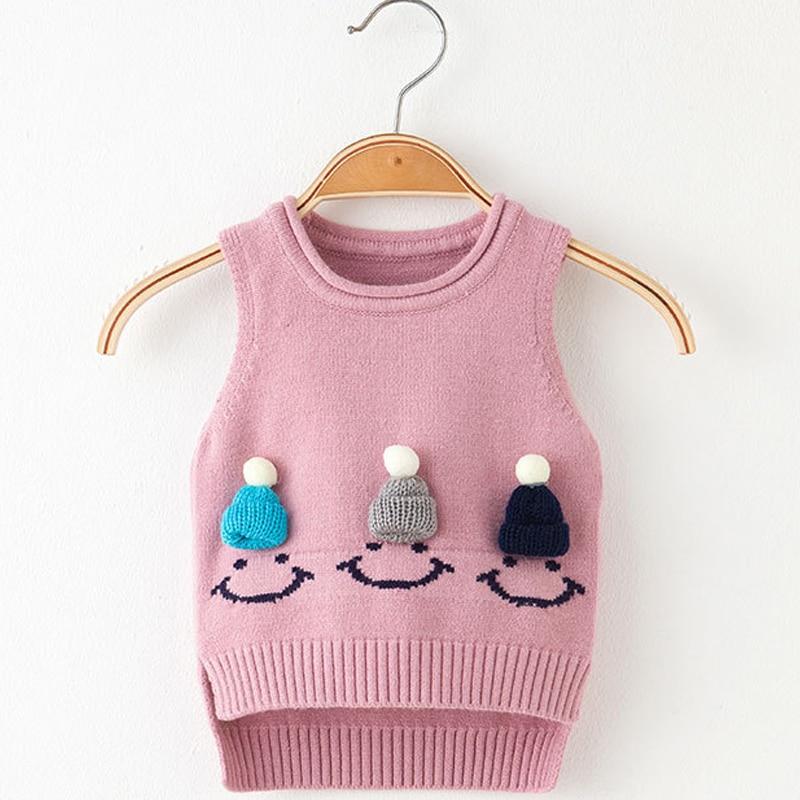 Woolen Clothes Design | Dziecko 2018 Winter Girls Sweaters Balls Design Baby Knitted