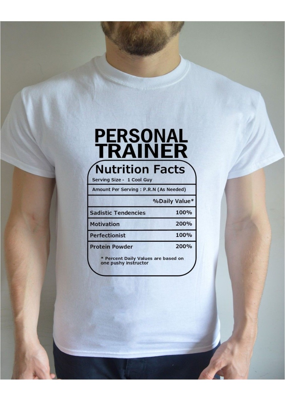 ad18a664 Detail Feedback Questions about 2019 Newest Brand Men Sleeve Fashion Men  Personal Trainer Nutrition Funny Printed Vintage Gift Present Casual T Shirt  on ...