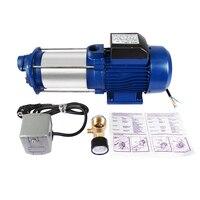 Garden Pump Jet Pump Domestic Water Pump Stainless Steel GP 2200 INOX Durable Irrigation Pump for Outdoor Use