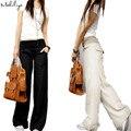 Makuluya2019 лучшее белье FREEOEM белье Эластичный пояс универсальные широкие брюки Повседневный Топ прямые брюки удобные свободные брюки L6 - фото