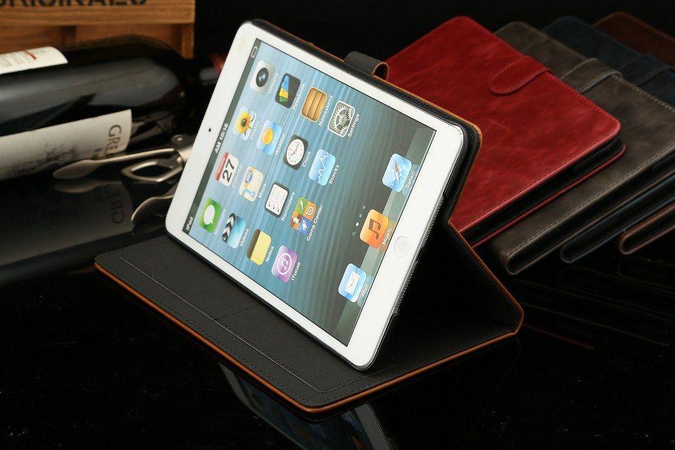 Funda de cuero de alta calidad para iPad Mini 2 Retina Smart Funda - Accesorios para tablets - foto 4