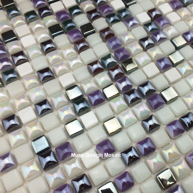 Peachy Us 219 99 Silver Purple White Glass Mosaic Wall Tile For Kithchen Backsplash Bathroom Border Tiles Diy Home Decor Wallpaper Sticker In Wallpapers Interior Design Ideas Gentotryabchikinfo