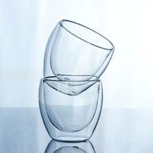 Новое поступление Классические 150 или 250 или 350 или 450 мл стеклянные двойные стенки прозрачные кофейные чашки изолированный офисный чай