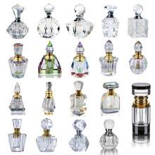 H&D 21 Styles Vintage Perfume Bottles Crystal Empty Refillable Home Table Decoration Bottle Wedding Favors