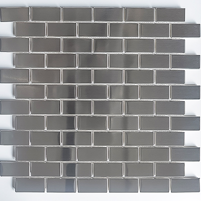 5 Wholesale 72 Pieces Peel And Stick Stainless Steel Kitchen Backsplash Tiles 30x30cm Silver Brushed Metal Mosaic Wall Sticker In Wall Stickers From Home Garden Peony Bridal Bouquet