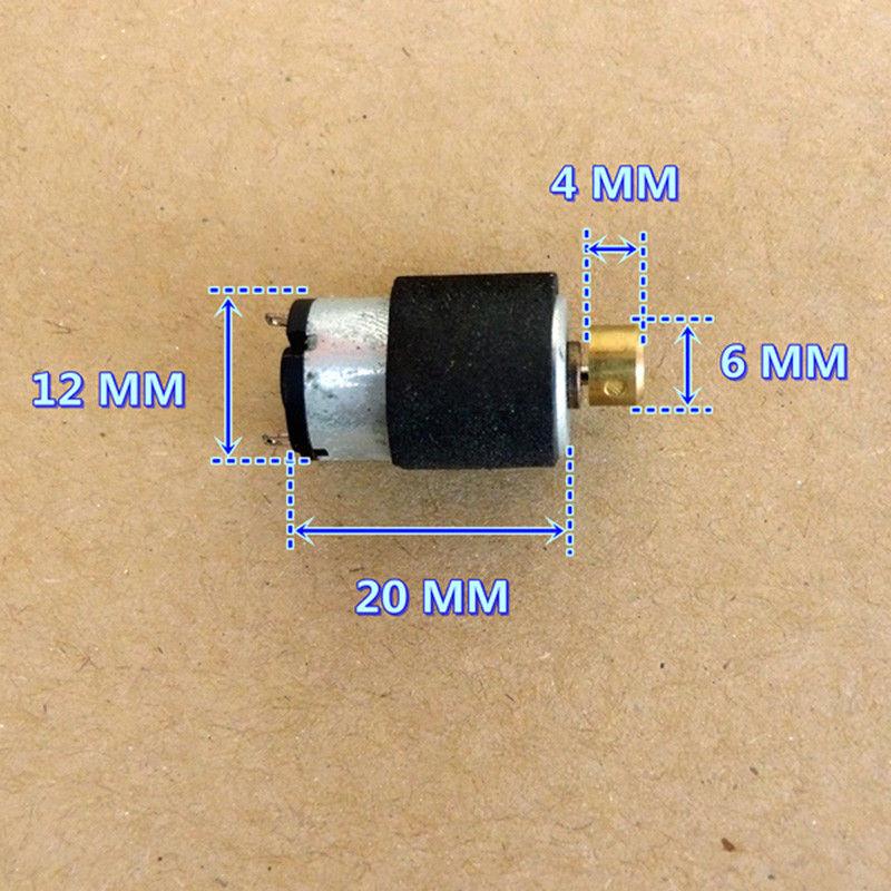 DC 1.5V Micro Vibrating Vibrator Round Motor Strong Vibration DIY Toy Massager