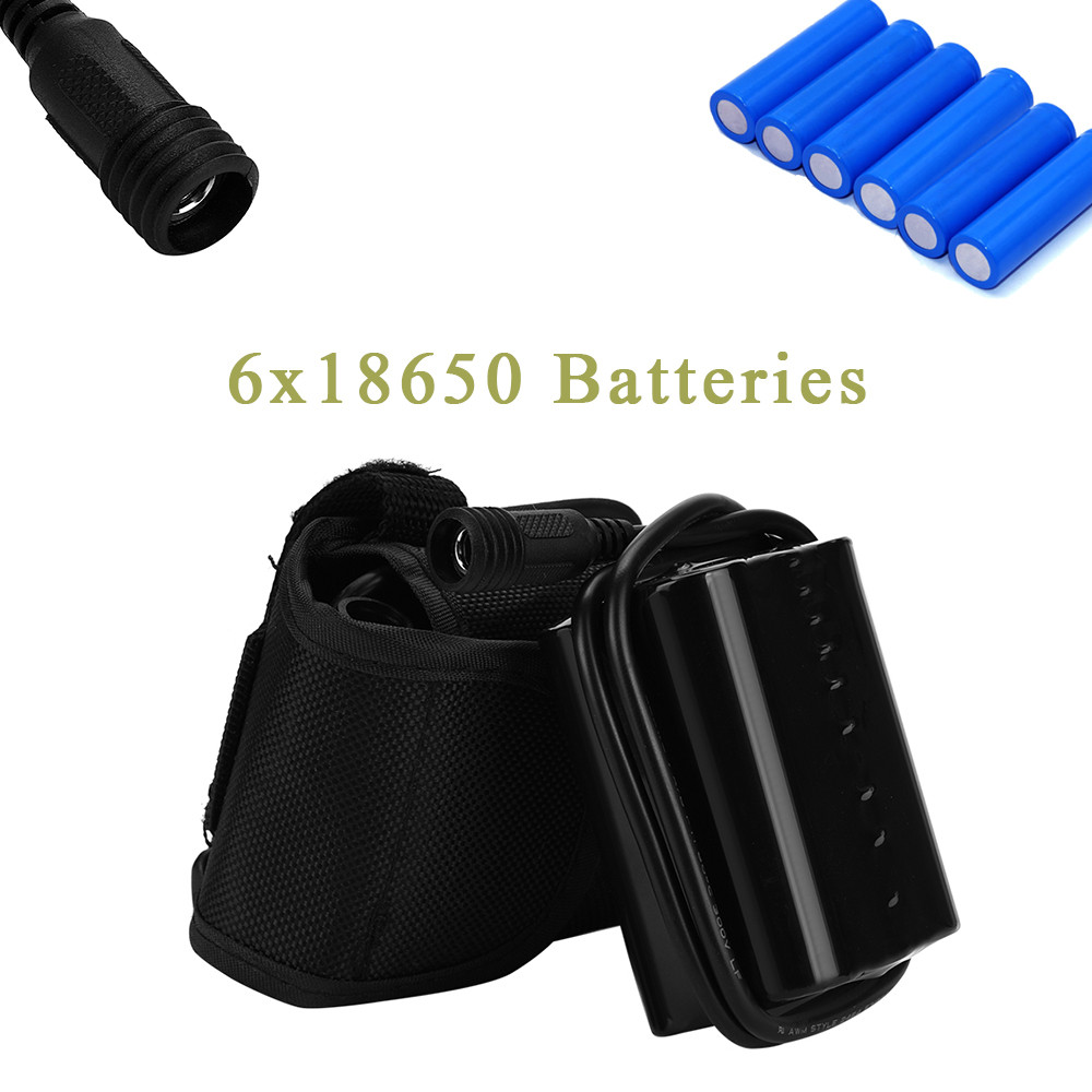 CARPRIE DC 8.4V USB Rechargeable 12000mAh 6X18650 Battery Pack For Bicycle Light Bike
