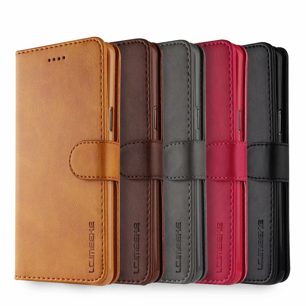 For Samsung Galaxy <font><b>S105G</b></font> Case Leather Vintage Phone Case Funda Samsung S10 Plus Case Flip Magnetic Wallet Case On S9 Plus s10e image