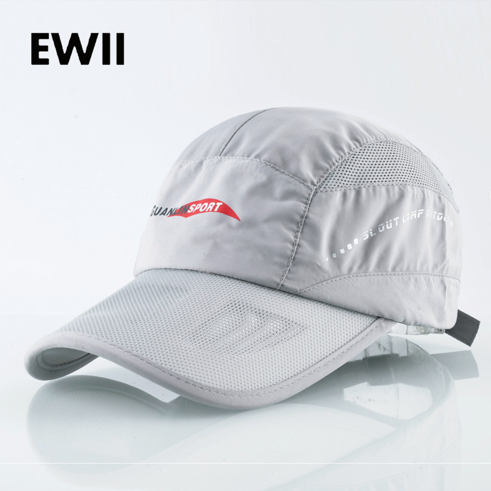 Breathable hip hop hat for men mesh baseball cap women summer trucker cap snapback fitted dad hat quick-drying bone masculino