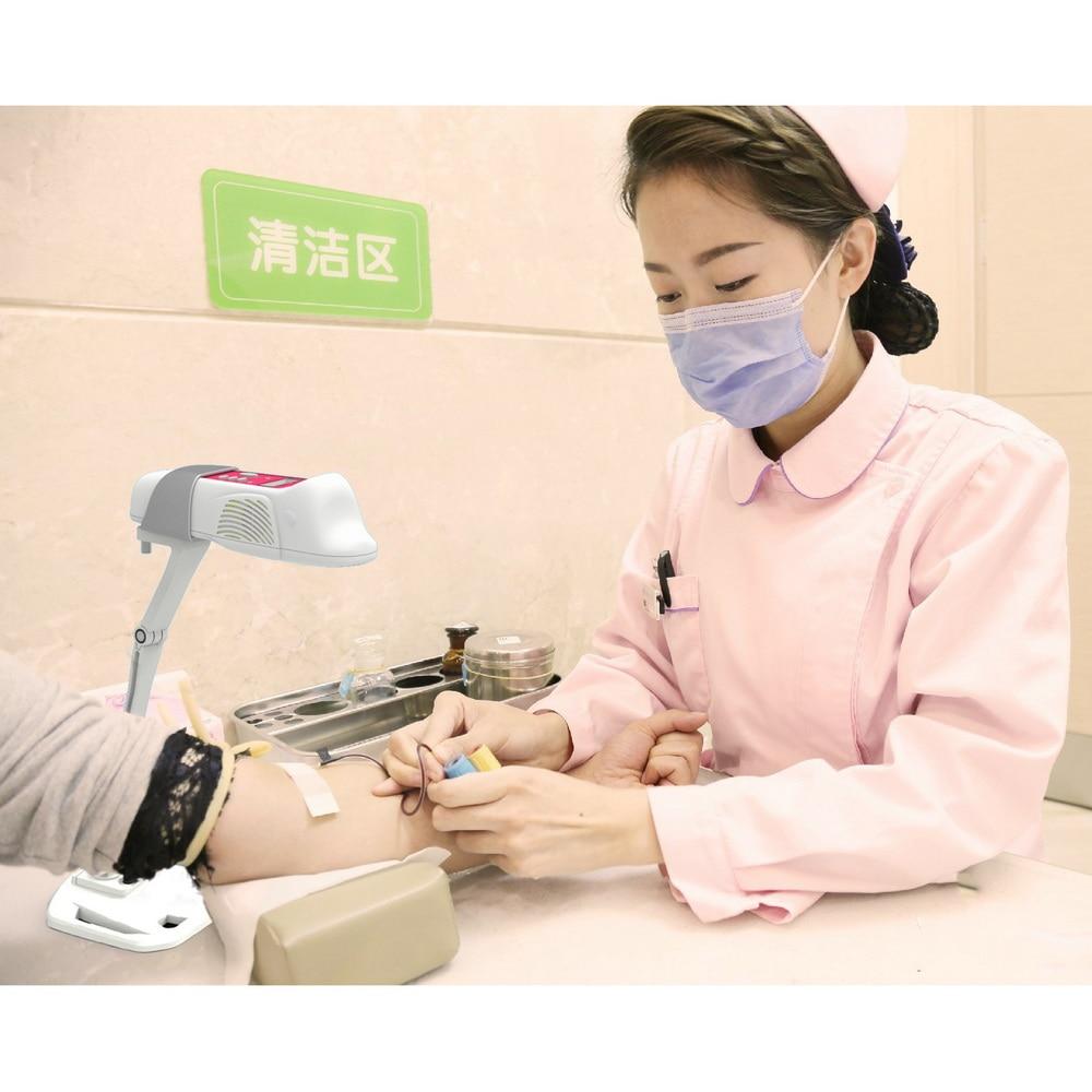 V-SHOW2 венозная ангиографическая лампа высокого класса, близкая к инфракрасной сосудистой проекции, лампа для вены, помощь при прокалывании, инфракрасный искатель