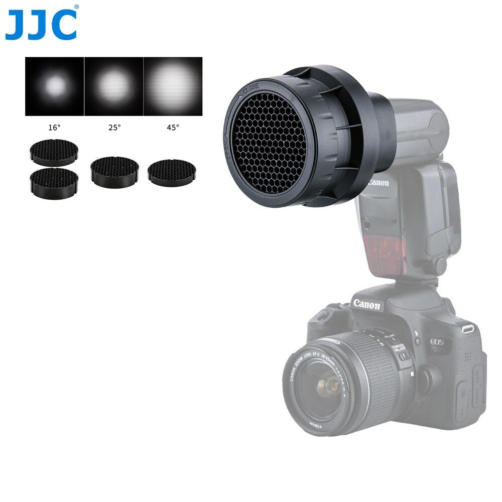 JJC Flash Light Honeycomb Grid Photographic Speedlight Photo Studio Accessories For CANON 580EX II/600EX RT/YONGNUO YN-600EXII