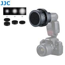 Jjc flash luz favo de mel grade fotográfico speedlight photo studio acessórios para canon 580ex ii/600ex rt/yongnuo YN 600EXII