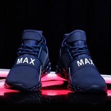 Мужская обувь кроссовки для человека 2019 Braned с волнообразным краем; Zapatos De Hombre Air спортивная обувь кроссовки для Для мужчин красный zapatillas hombre Deportiva; сезон весна-осень