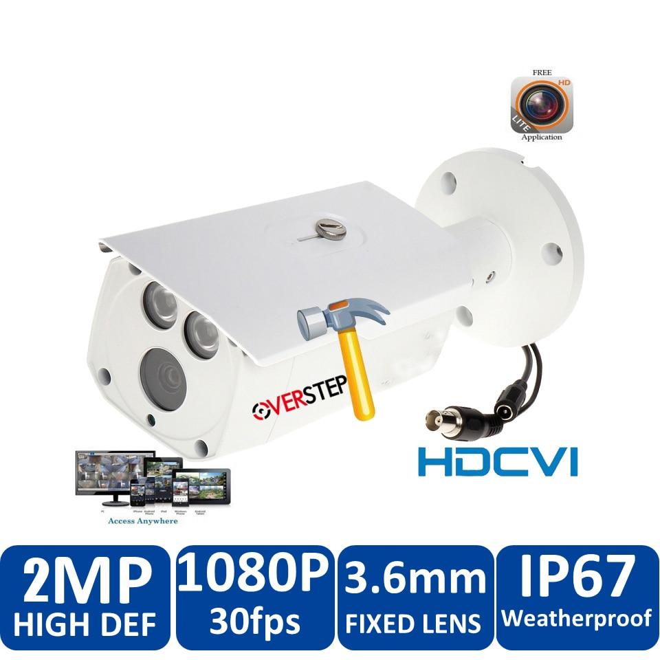 Original HD1080p DH 2MP HDCVI IR Bullet Camera HAC-HFW1200D CVI Security Camera IR length 80m, Smart IR HAC-HFW1200DP цена