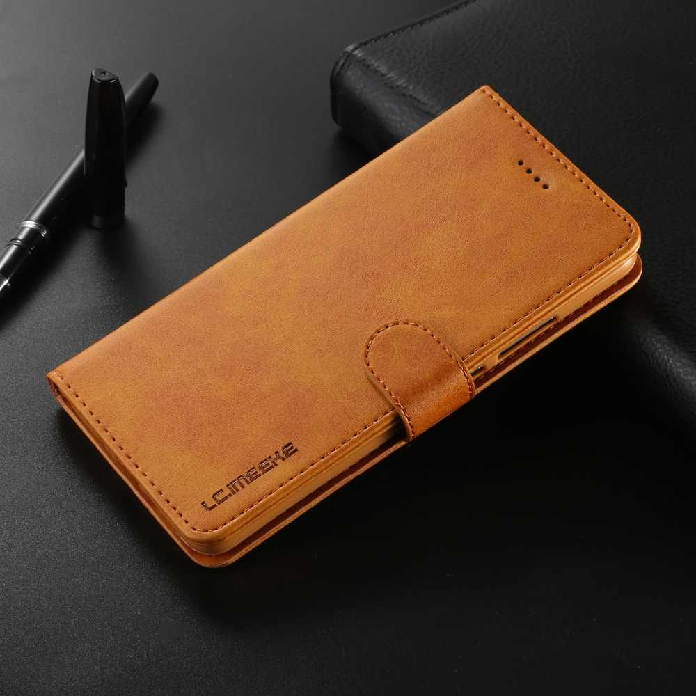 Magnetic Business Phone Case For Huawei Mate 10 20 Pro Case For Huawei Mate 10 20 Lite Cover Card slot Flip Stand wallet Coque
