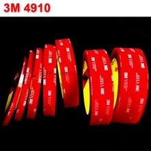 1 рулон(5 мм~ 50 мм на выбор) 3 метра в длину прозрачный 3 М VHB 4910 сверхпрочный двухсторонний клей акриловая пена