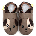 First Walker Baby Shoes Animal Genuine Leather Baby Moccasins Soft Sole Boy Slippers Toddler Shoes Non-slip Infant Shoes Boy