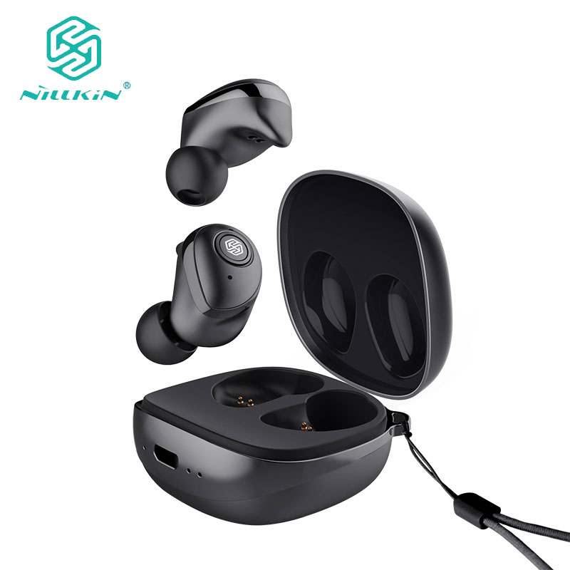 New Nillkin TWS Earphone Auto Pair Bluetooth 5 0 Wireless IPX5 Stereo Handsfree Call Charging Case