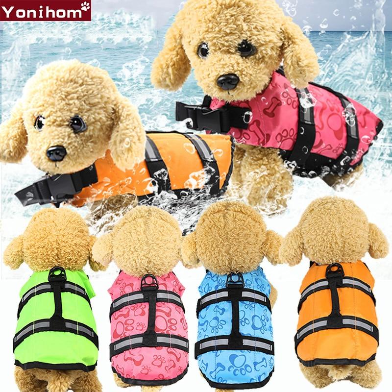 Acquista A Buon Mercato Pet Dog Giacca Di Salvataggio Di Sicurezza Vestiti Giubbotto Salvataggio Collare Cablaggio Saver Pet Dog Nuoto Conservatore Vestiti Di Estate Vestito Di Nuoto Di Sicurezza Carattere Aromatico E Gusto Gradevole