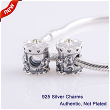 L331 New Arrival Authentic 100% 925 Sterling Silver Original Beads Carrousel Merry-go-round DIY Charms Fits for Pandora Bracelet
