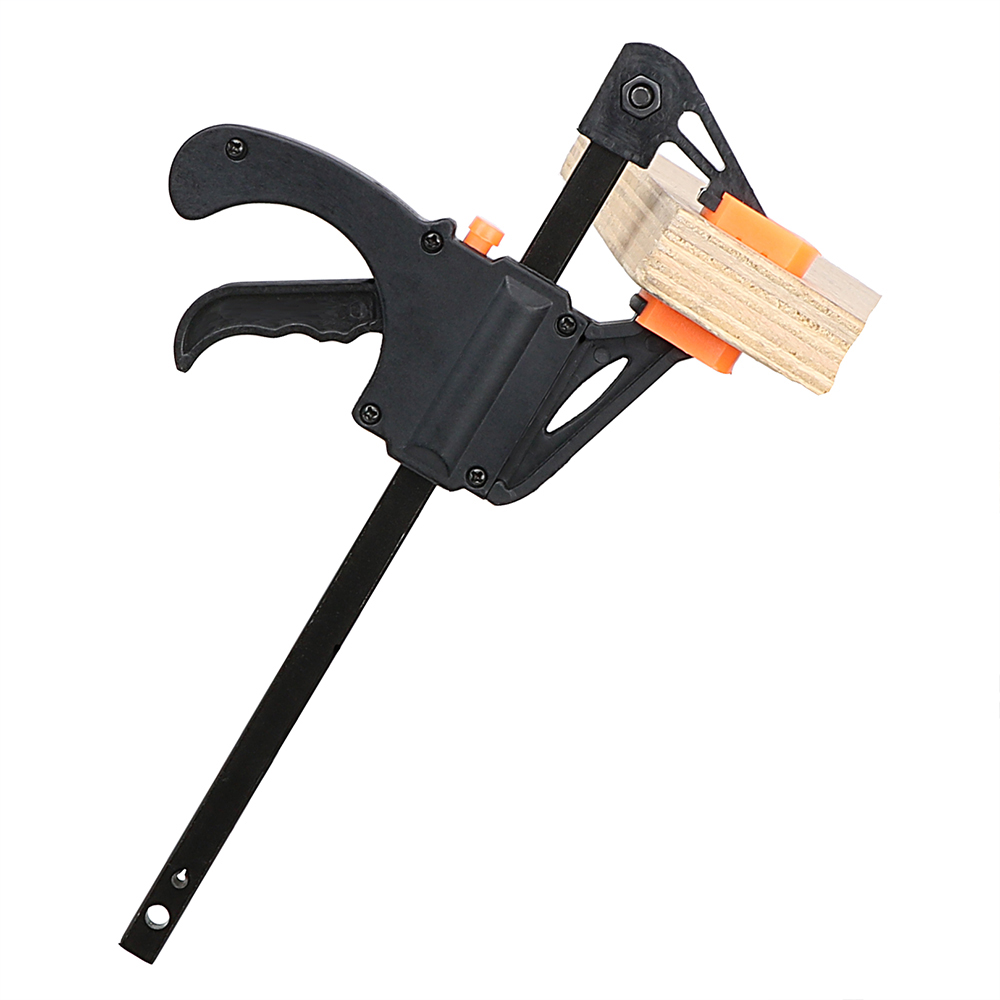 3NICEYARD Wooden Board Clip Clamp Ratchet Carpentry Fixed Clip Quick Release Quick Squeeze Woodworking F Folder Clip