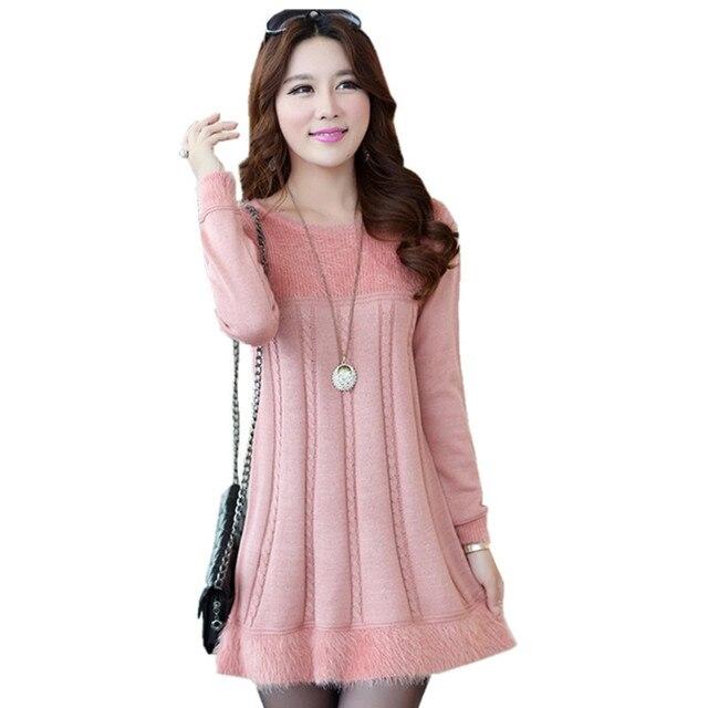 Loose Sweater Dress