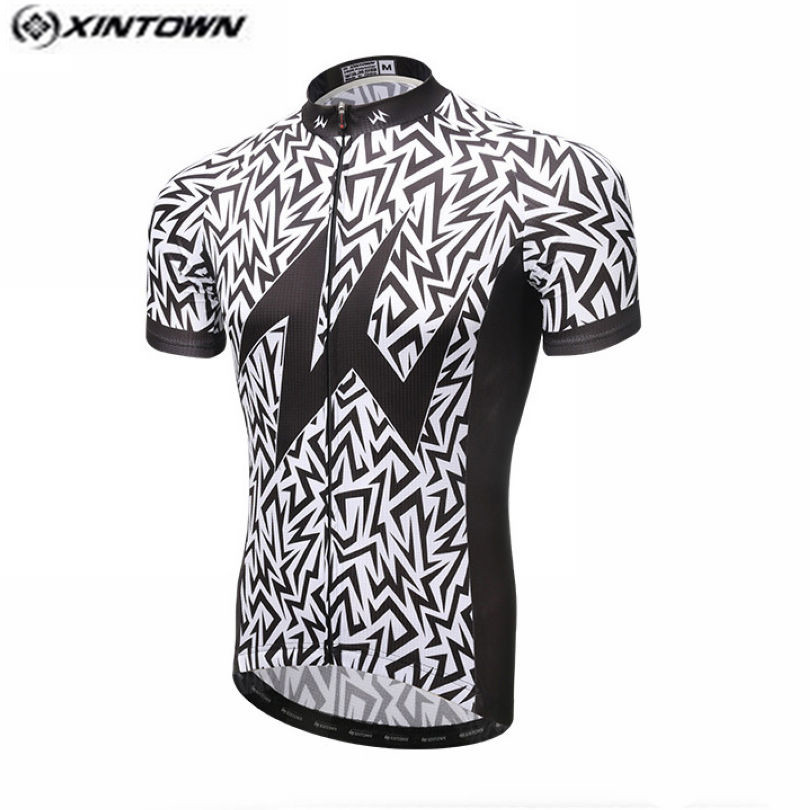 2017 XINTOWN Camouflage Cycling Jersey Men Bike Clothing Bicycle blouse Top  Ropa Ciclismo Racing T Shirts Short sleeve Maillot-in Cycling Jerseys from  ... a23404a3d