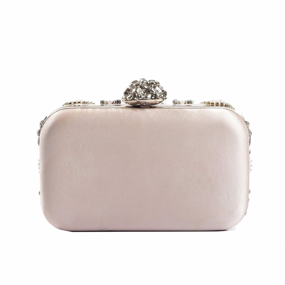 98dbed124d JZX10 DHL Free Shipping Light Pink Beading Crystal Evening Bags Clutch Bag  Women Clutches Lady Wedding bag Handbag Purse
