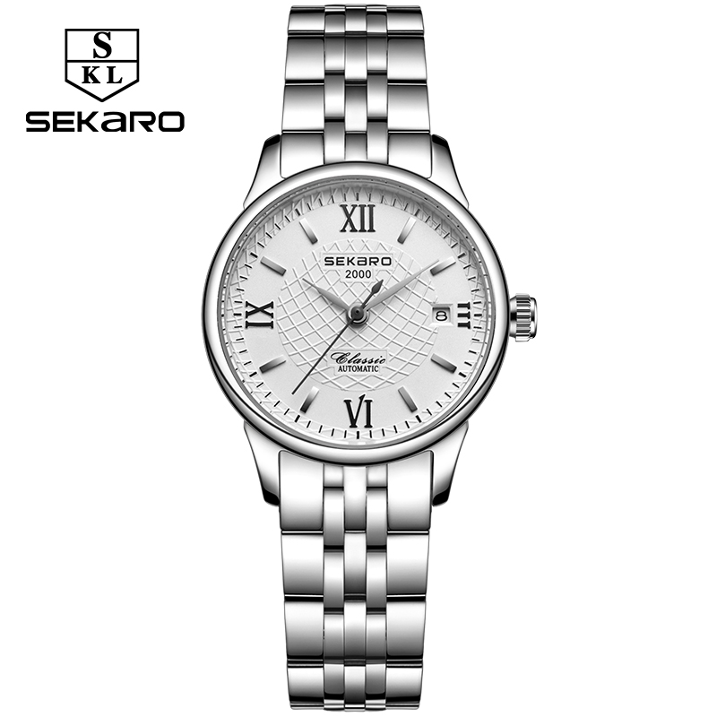 Sekaro Brand Dames Mechanisch horloge Luxury Famous Automatic horloge - Dameshorloges