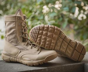 Image 5 - Ultralight Erkekler asker botu Askeri Ayakkabı Savaş Taktik yarım çizmeler Erkekler Için Çöl/orman çizmeleri Açık Ayakkabı Boyutu 35 46
