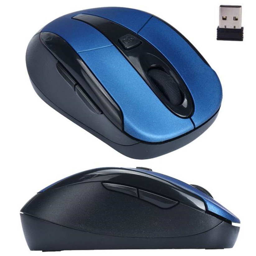 Mosunx Mouse Portable 2.4G Wireless Optical Mouse Mice For Computer PC Laptop td0124 dropship