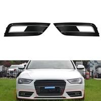 Front Facelift Bumper Grill Fog Light Grille Cover For Audi A4 B9 Left