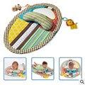 Bebé juguete de bebé aprendizaje temprano y educación juego manta baby play mats almohada con espejo musical toys 0-12 meses ecológico