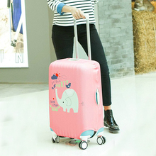 travel accessories Independent printing sleeve elastic luggage trolley thickenedTravel Dust Cover Case (20 ~ 30) inches