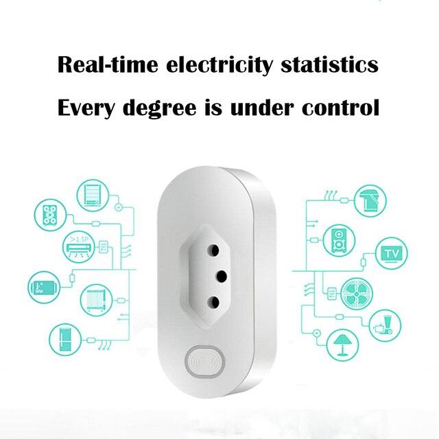 brazil products Smart home smart remote control products WIFI smart automation regulation row plug Brazilian gauge WIFI plug