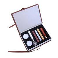 Sealing Wax Clear Stamps Set Diameter 25mm Stamps Wax Seals Delicate Cuprum Stamps For Kids Adults