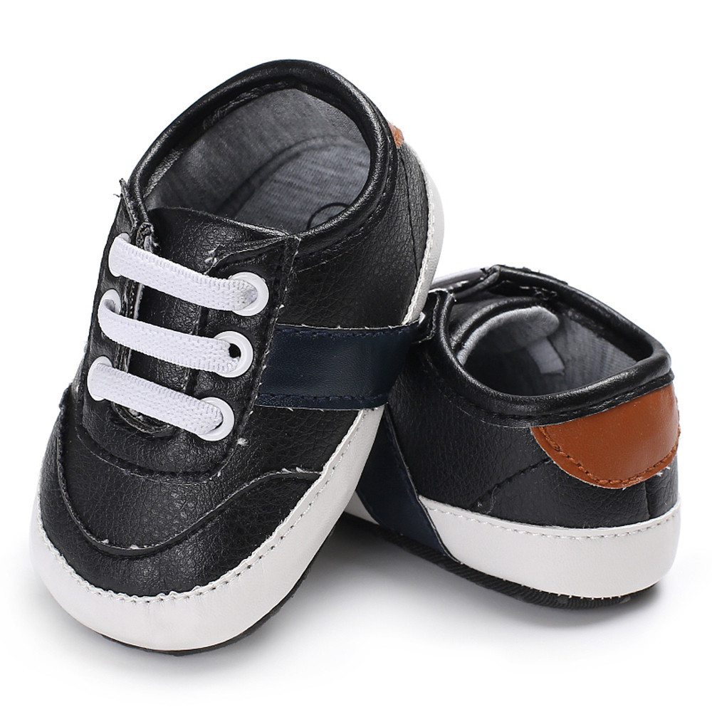 LONSANT 2018 3 Colors First Walkers Comfortable Baby Girl Boys Frenulum  Letter Shoes Sneaker Anti slip Shoes PU Cloth Soft shoes-in First Walkers  from ... f89b454cf67d