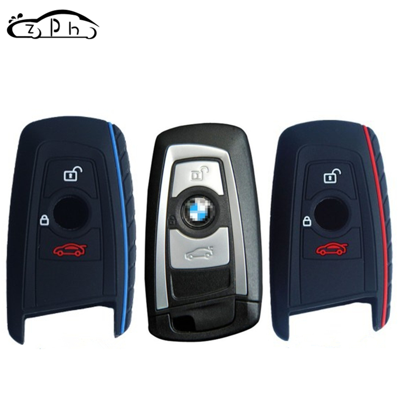 Silicone Car Key Cover Case For BMW 1 3 5 7 Series M1 M2 F05 F10 F20 F30 335 328 535 650 740 X1 F48 X3 X4 X5 E30 E34 E36 E39 E46