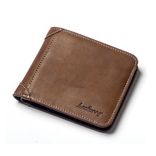 Fashion 2019 men's wallet leather wallet, soft leather wallet, men's wallet, new design dollar thin wallet