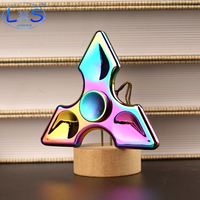 Multi Color Triangle Gyro Finger Spinner Fidget EDC Hand For Autism ADHD Anxiety Stress Relief Focus