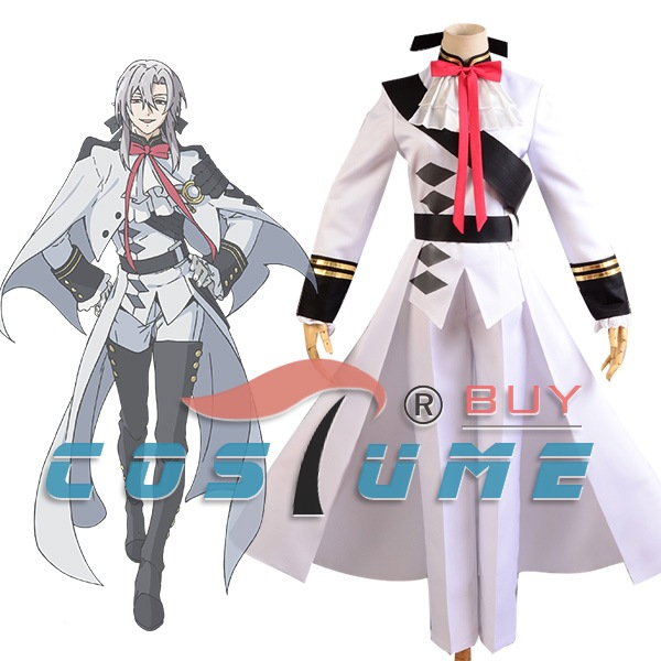 seraph of the end cosplay Seraph of the End Ferid Bathory Cosplay Military Adult Men Cosplay Costume Custom Made